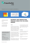 business and production process analytics via data mining