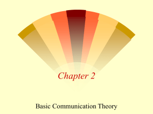 Basic Communications Theory