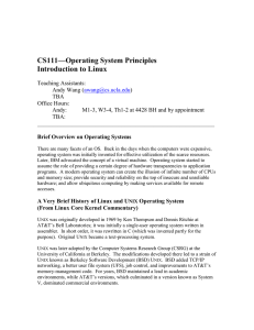 CS111—Operating System Principles