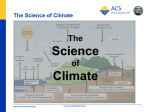 The Science of Climate - acs.org