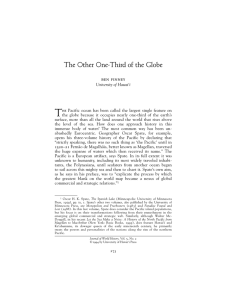The Other One-Third of the Globe