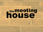 Jesus - The Meeting House