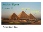 Ancient Egypt Lesson 2