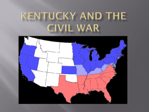 KY Civil War ppt