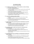 Ch. 6: Random Variables AP STAT Learning Targets I can apply the