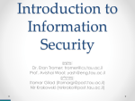 Introduction to Cyber Security - Cs Team Site | courses.cs.tau.ac.il