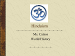 What is Hinduism? - World History CP2