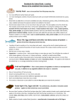 Kitchen Supervisor Standards for School Food Plan Jan 2015
