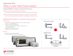 Need a Lower Noise Power Supply?