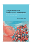 Axillary lymph node involvement in breast cancer Prognostic and