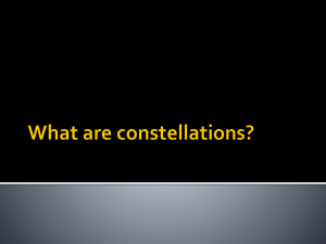 What are constellations? - Red Hook Central Schools