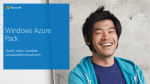 Windows Azure Pack Overview