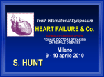 10 aprile 2010 Tenth International Symposium HEART FAILURE