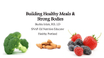 Healthy Nutrition - Riverton Elementary School