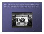 Great Depression to World War II