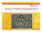 History 110B World History 1500 to the Present