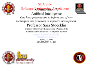 Artificial Intelligence - Florida State University