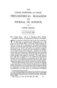 PHILOSOPHICAL MAGAZINE JOURNAL OF SCIENCE.