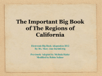 Big Book for California Regions