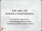 Presentation - ABCs of Power Conditioning (06