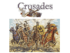 Digital Presentation The Crusades