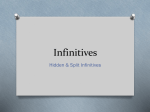 Hidden-Split-Infinitives