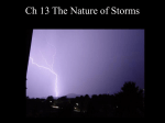 Ch 13 The Nature of Storms