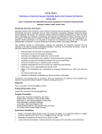 Workshop Proposal for 2005 IEEE International Symposium on