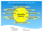 Operating Systems Introduction