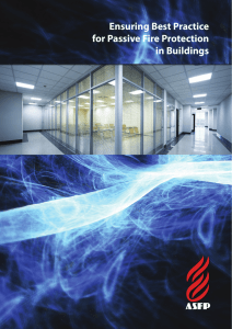 Ensuring Best Practice for Passive Fire Protection in Buildings