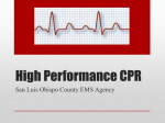High Performance CPR