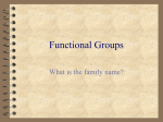 Functional Groups - World of Teaching