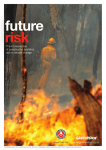 The increased risk of catastrophic bushfires due to