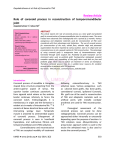 Review Article Role of coronoid process in reconstruction of