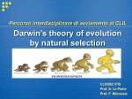 Darwin`s theory of evolution by natural selection
