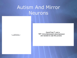 Autism And Mirror Neurons