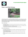 EPA - What is Acid Mine Drainage