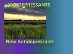 Lecture 7 - Antidepressants new 11-12
