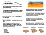 Brain Pop-Plate Tectonics ANSWER KEY