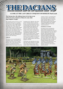 A LOOk AT ThE LAST GREAT CONqUEST Of ROME By Paul Leach