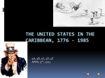 THE UNITED STATES IN THE CARIBBEAN, 1776