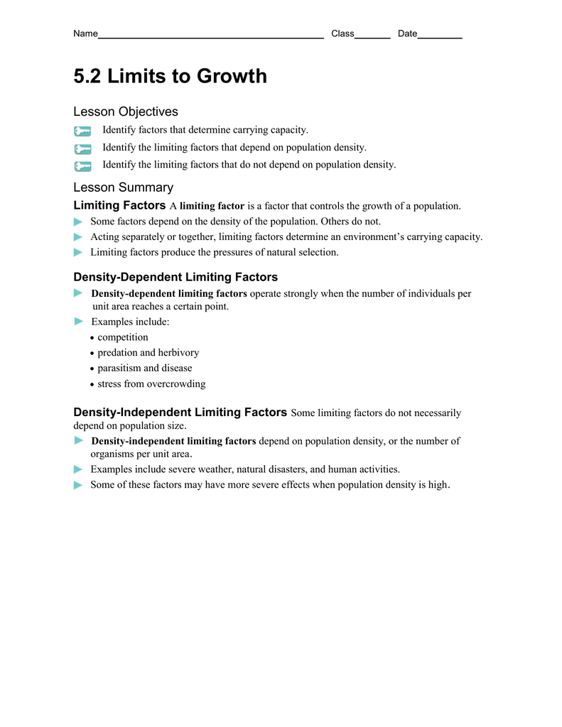 Density Dependent Factors Examples Choice Image Resume Cover