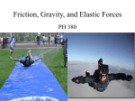 Friction and Gravity - elementaryscienceteachers