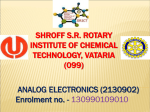 Shroff S.R. Rotary Institute of Chemical Technology, Vataria