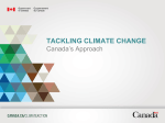 canada`s approach - climatechange.gc.ca