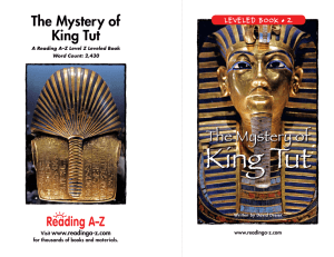 The Mystery of King Tut