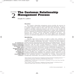 The Customer Relationship Management Process