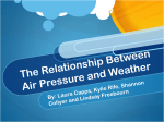 The Relationship Between Air Pressure and Weather