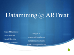 Datamining @ ARTreat Project