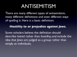 There are many different types of antisemitism, many different